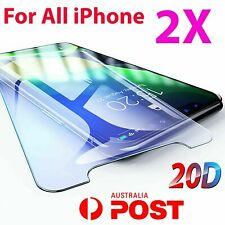 2X iPhone XR XS XS Max X 11 PRO 7 8 6S Plus 4 Tempered Glass Screen Protector 5s