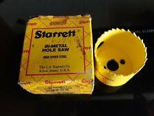 New listing Starrett Bi-Metal 2 Inch Hole Saw H0200