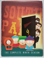 South Park - Complete 9th Ninth Season - 3-DISC DVD SET Comedy Cartoon Cartman
