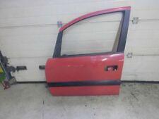 Opel Zafira A 1,6 L   Tür  Vorne Links   Mit Scheibe    Rot Y547    (33600)