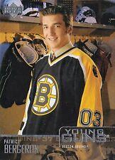 2003-04 Patrice Bergeron   Rc  ROOKIE YG  Boston Bruins  Fridge Magnet