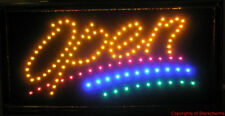 Animated Led Neon Light Open Sign W/ Multi Color 741