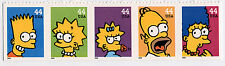 US Scott #4399-4403 The Simpsons Strip of 5  MNH***FREE SHIP*****