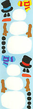 Mrs. Grossman's Stickers - Build-a-Snowman - Snowman Parts - 4 Strips