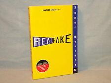 Nancy Drew Girl Detective Super Mystery #3 Real Fake pb 2007 Carolyn Keene