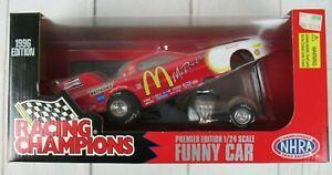 RACING CHAMPIONS McDONALD'S FUNNY CAR DIE-CAST REPLICA 1996 1/24 Scale Premier