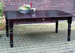 Tisch Esstisch Massiv Landhaus Esszimmer Küchentisch 120 cm M03 kolonial Neu