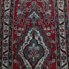 Vintage 2x6.5 Runner Middle Eastern Rug
