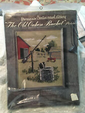 Vintage Paragon Crewel Embroidery Kit -The Old Oaken Bucket