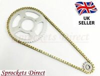 Chain and Sprocket Kit GOLD for Suzuki VL125 Intruder LC 00-07