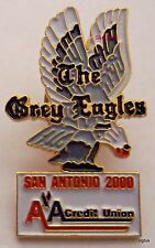 American Airlines Credit Union The Grey Eagles San Antonio 2000 Lapel Pin-MINT