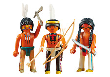 Playmobil - Western - 6272 - 3 Sioux-Indianer - NEU OVP