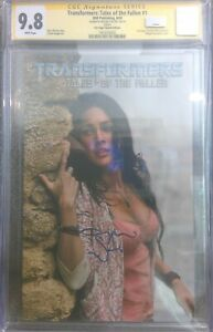 Transformers: Tales of the Fallen #1 photo__CGC 9.8 SS__Signed by Megan Fox_RARE
