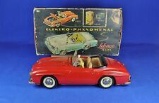 SCHUCO Elektro-Phänomenal Mercedes 190SL rot / red, Western Germany 1955-69, OVP