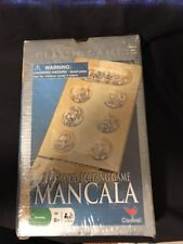 Solid Wood Folding Game Mancala by Cardinal Family 2 player NEW