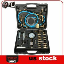 Master Fuel Injection Pump Pressure Test Kit CISE CIS Metric SAE Gauge 100PSI