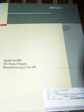 Hewlett Packard Operating & Service Manual 06439-90001 Model 6439B DC PS Code 6B