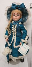 Vintage 1988 Nicole Reproduction Bru Jne 6 antique doll by Hamilton Collection