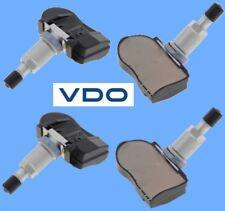 Set 4 VDO TPMS Sensor kit for Accent Elantra Niro Optima Replace OEM# 52933F2000