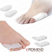PEDIMEND™ Pinky Toe Separator and Straightener - Tailors Bunion Pads - Foot Care