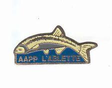 RARE PINS PIN'S .. SPORT PECHE FISHING POISSON AAPP L'ABLETTE  ~AP