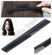 Hair Styling Black Comb Hairdressing Barbers Salon Women Men Pocket Brush UK