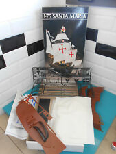 15.04.18.7 Ancien maquette kit bateau SANTA MARIA 1/75 HELLER