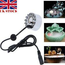 Ultrasonic Mist Maker Mini Light Fogger Water Fountain Pond Fog Atomizer Gift UK