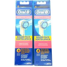 8 Oral B Sensitive Clean Aufsteckbürsten Original OralB Ersatz Zahn Bürsten