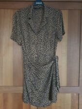 Other stories leopard animal print dress size 10