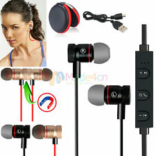 New -MD56 Magnetic Bluetooth Headphone Earphone With Mic For Cell Phone Lenovo