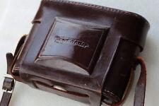 Ex+ VOIGTLANDER leather case for PERKEO 6x6 medium format folding camera