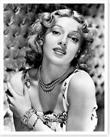 Movie Actress Lana Turner Silver Halide Celebrity Photo