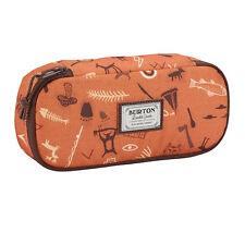 Astuccio BURTON SWITCHBACK CASE ovale arancio con graffiti 1 zip 18x10x6,5 cm