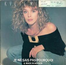 """KYLIE MINOGUE - JE NE SAIS PAS POURQUOI - 7"""" VINYL PS 1988 PWL RECORDS"""