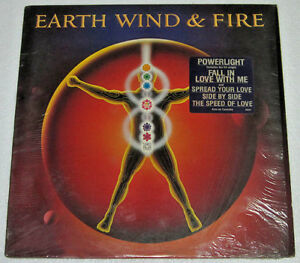 US Pressing EARTH, WIND & FIRE Powerlight LP Record