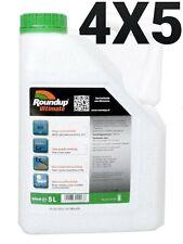 Roundup ULTIMATE 4X5L- Désherbant - Glyphosat - Monsanto 480g/l LIVRAISON EN 24H