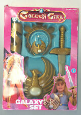 GOLDEN GIRL Galaxy Set Role Play Costume Placo 1984 Box Cosplay Galoob She-Ra