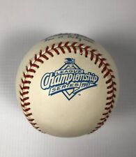 1997 Official Rawlings Gene Budig ALCS Baseball Indians Orioles