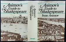 Asimov's Guide To Shakespeare By Isaac Asimov - Hardcover Vintage Book From 1978