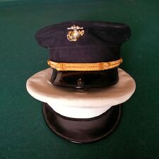 """USMC Officer WW II """"Blue"""" and White Covers VERY Rare!!!"""