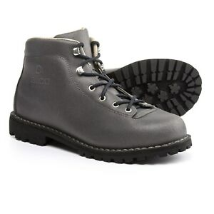 ALICO SPORT Men's Belluno Trekking Boots, Waxed Split Leather - Made in Italy