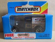 Boxed & Sealed (C)1981 Matchbox Die Cast Toy Van - MB 38 Ford Model A