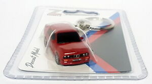 Z Models Novelty Diecast Model Car Keychain - BMW M3 E30 Red Model Car