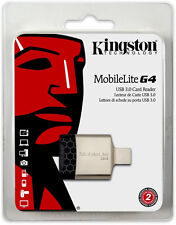 Kingston MobileLite G4 Usb 3.0 Micro Sdhc Pro Duo Memory Card Reader 16 32 64 Gb