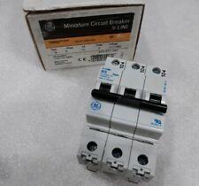 V17305 General Electric Circuit Breaker V Line 3 Pole 5 Amp 277480v New