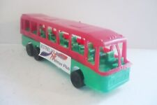 Mexican Passenguer Bus Estrella Roja Line - Plastic toy Truck Made in Mexico