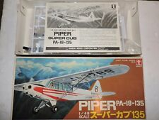 BANDAI 1/48th SCALE PIPER PA-18-135 MODEL KIT # 8521-300