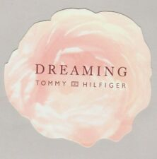 Carte publicitaire - advertising card  -  Dreaming Tommy Hilfiger