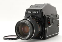 【NEAR MINT】 Mamiya M645 1000S AE Prism Finder w/ Sekor C 55mm F2.8 from JAPAN